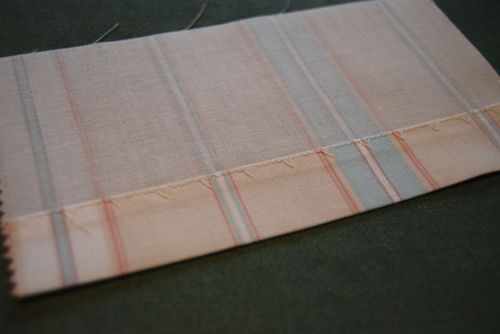 12.Back of double fold