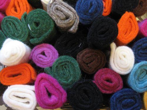 Wool felt